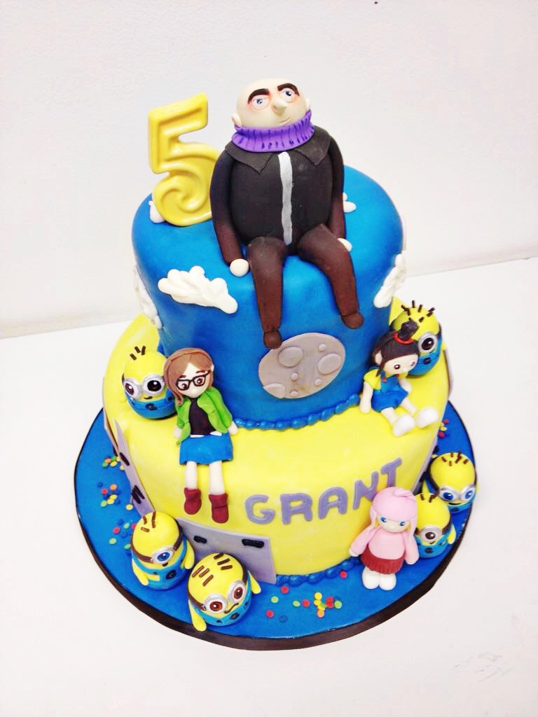 Despicable Me Birthday Cake Nashville Sweets Despicable Me Birthday Cake