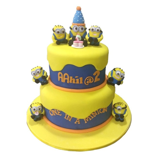 Despicable Me Birthday Cake One In A Minion Birthday Cake