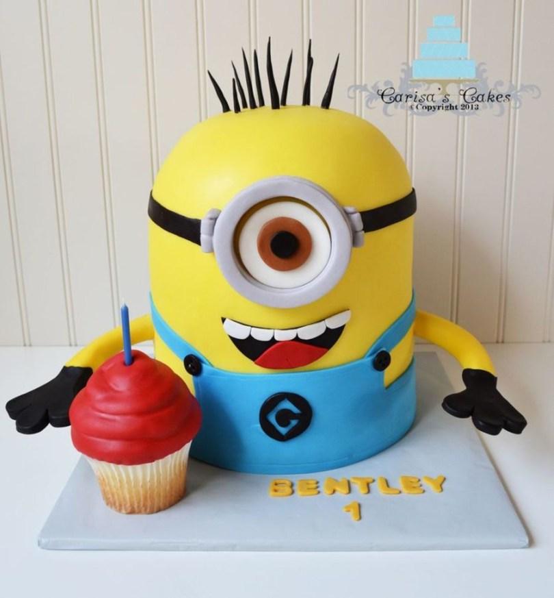 Despicable Me Birthday Cake Top Despicable Me Cakes Cakecentral