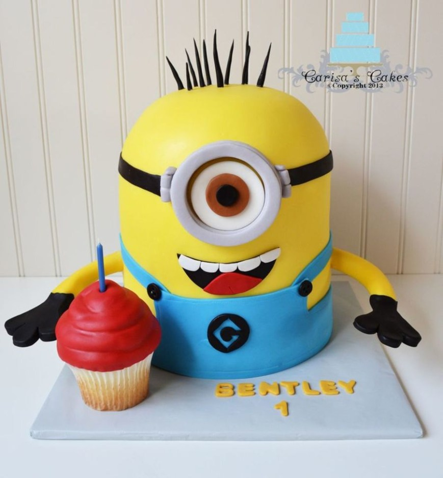 Despicable Me Birthday Cake Top Despicable Me Cakes Cakecentral