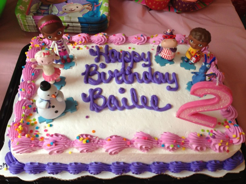Doc Mcstuffin Birthday Cakes Bailees Doc Mcstuffins Birthday Cake Child Birthday Party Ideas