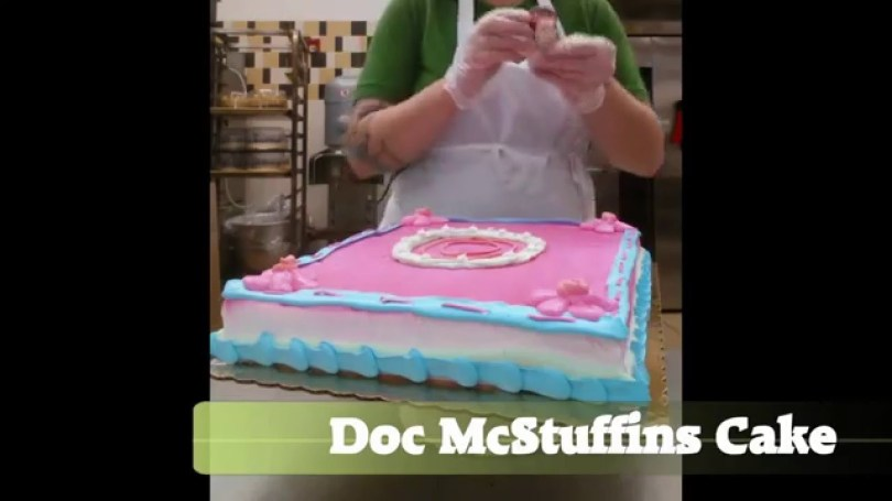 Doc Mcstuffin Birthday Cakes Doc Mcstuffins Cake Youtube