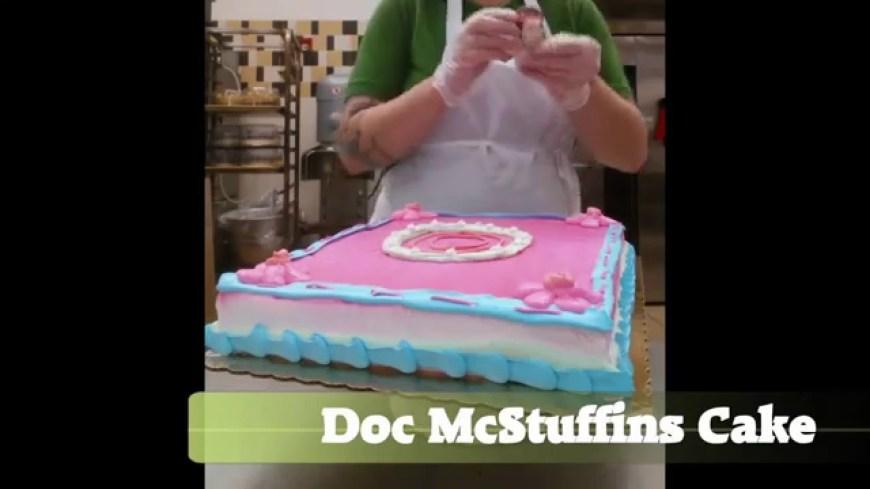 Doc Mcstuffin Birthday Cakes Doc Mcstuffins Cake Youtube