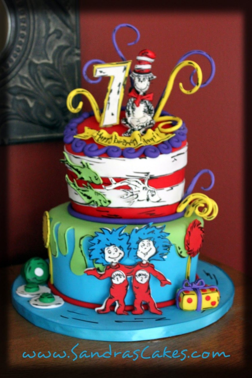 Dr Seuss Birthday Cake Dr Seuss Cakes Google Search All Bout Party Ideasthemes Dr