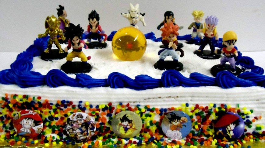 Dragon Ball Z Birthday Cake 2018 Dragon Ball Z Birthday Cake Toppers Collection Of