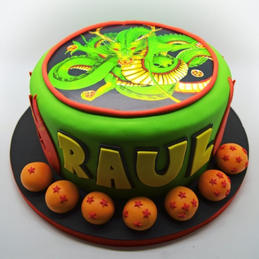 Dragon Ball Z Birthday Cake Dragon Ball Z Birthday Cake From Patricia Creative Cakes Brussels