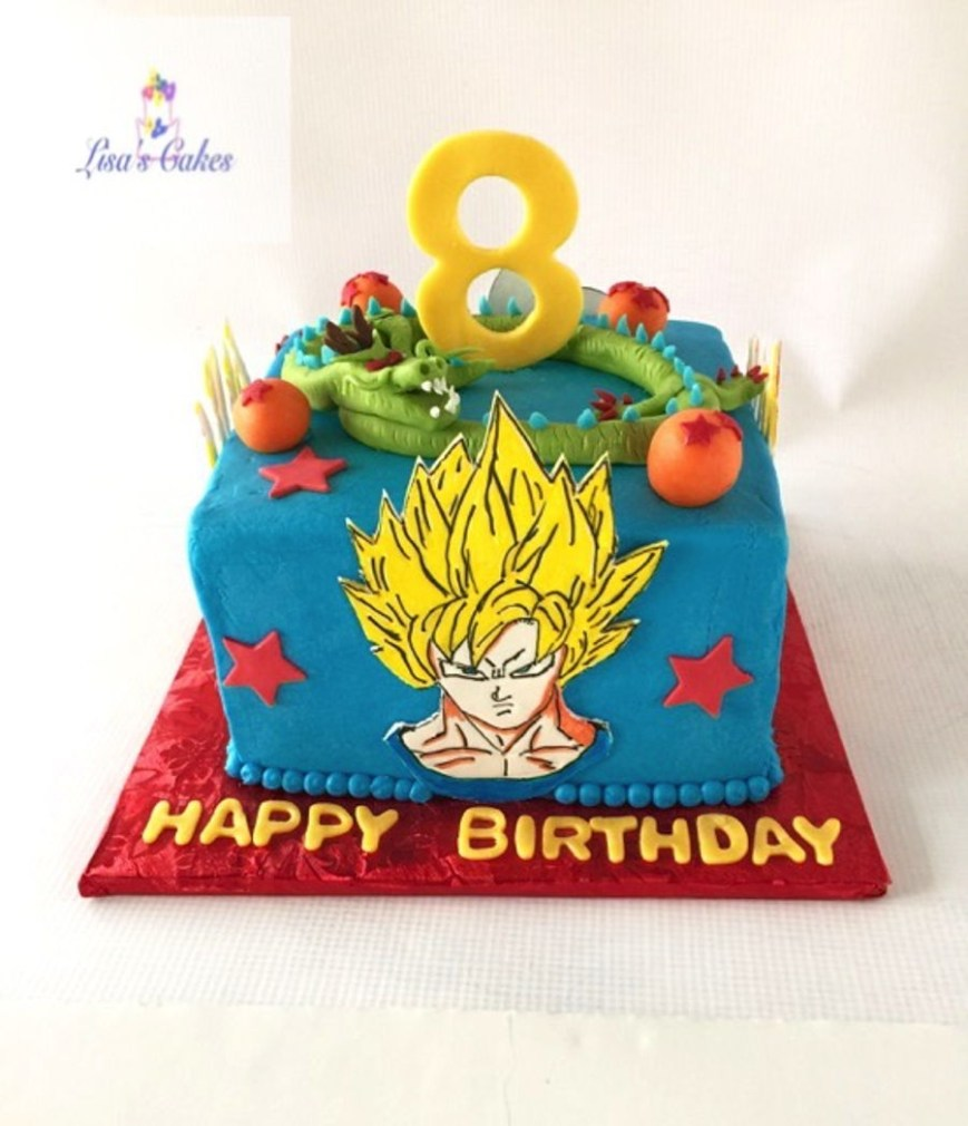 Dragon Ball Z Birthday Cake Dragonball Z Birthday Cake Cakecentral