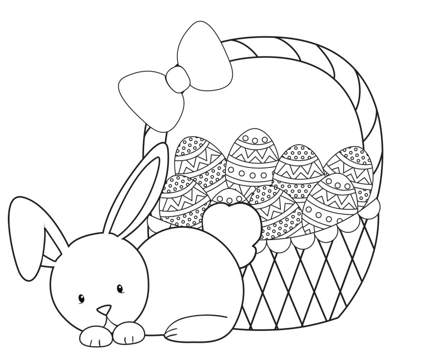 Easter Coloring Pages For Kids Easter Coloring Pages For Kids Crazy Little Projects