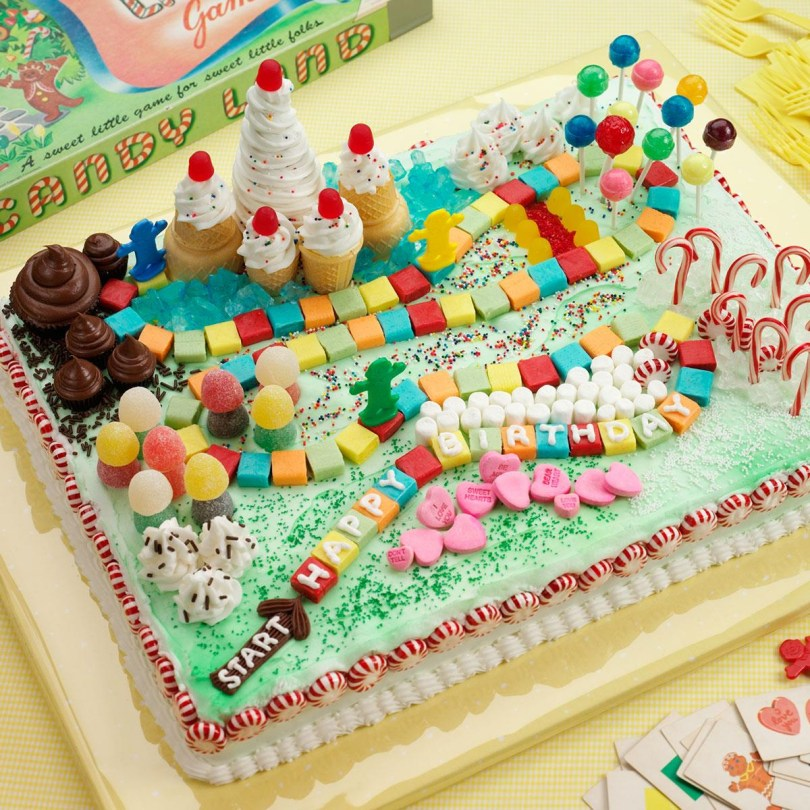 Easy Birthday Cake Recipes Candy Land Cake Recipe Taste Of Home
