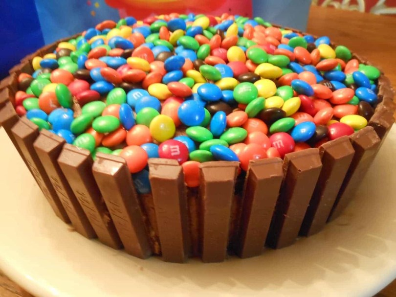 Easy Birthday Cake Recipes Kit Kat Cake Sugar Dish Me