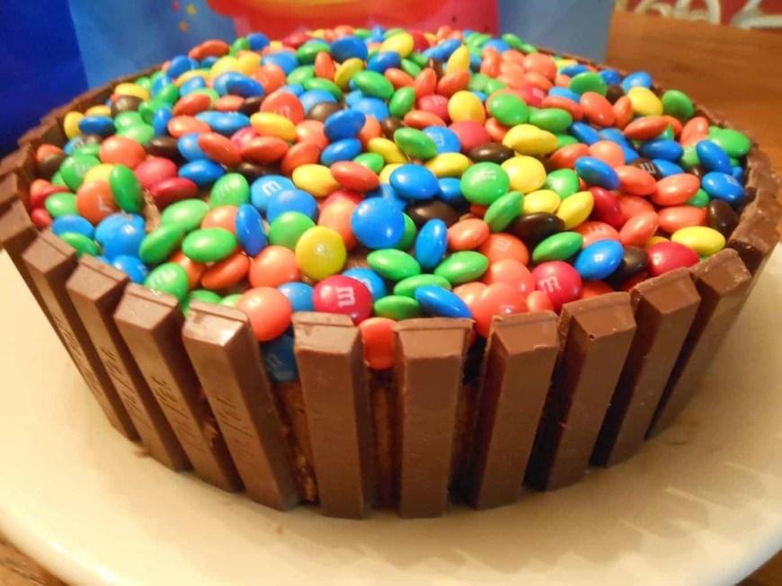 Easy Birthday Cake Recipes Kit Kat Cake Sugar Dish Me
