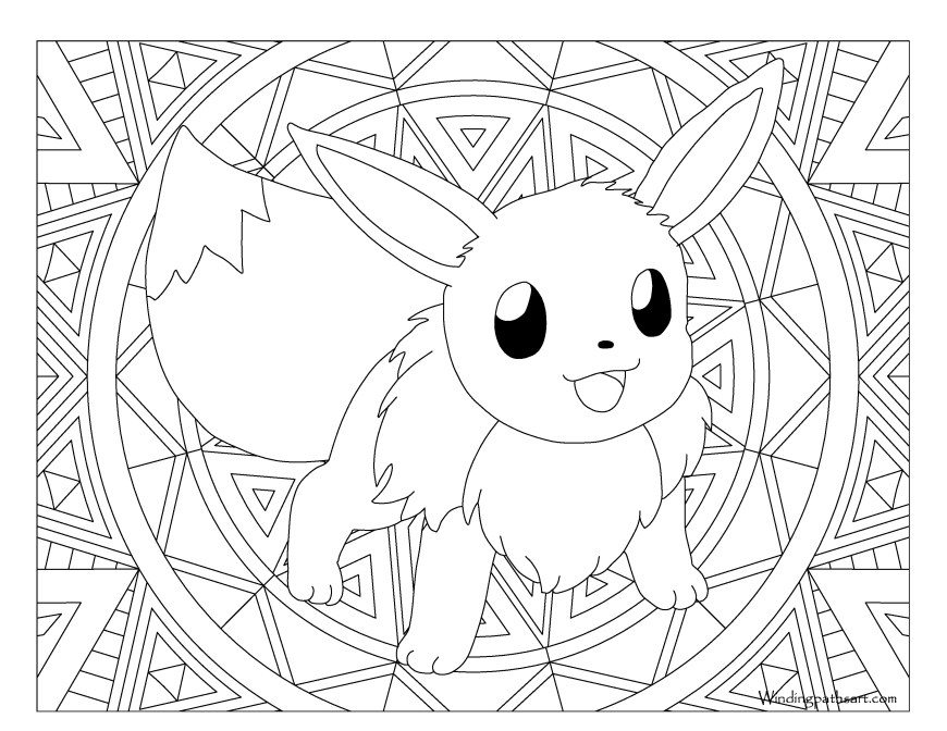 Eevee Evolutions Coloring Pages Revisited Pokemon Eevee Evolutions Coloring Pages 1 L Of As Humans