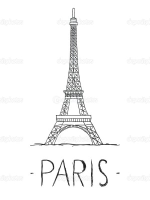 Eiffel Tower Coloring Page Coloring Pages Coloring Pages Extraordinary Eiffel Tower For Image