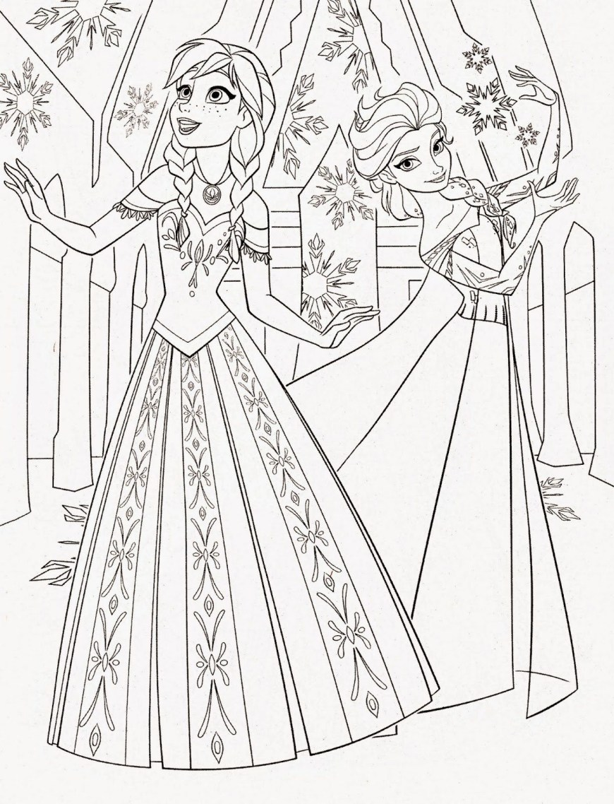 Elsa Anna Coloring Pages Anna Mae Coloring Pages Princess Young Elsa Games Disney Frozen To
