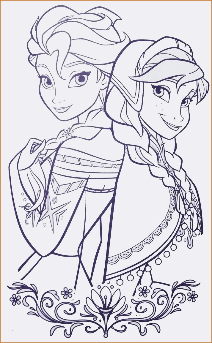 Elsa Anna Coloring Pages Coloring Page Of Elsa And Anna Coloring Page Elsa And Anna Elsa Anna
