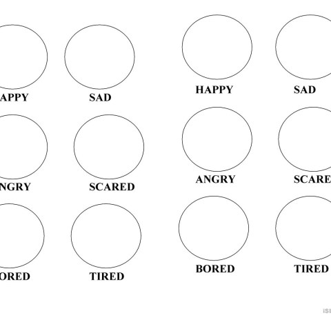 Emotions Coloring Pages Emotions Coloring Pages Worksheet Free Esl Printable Worksheets