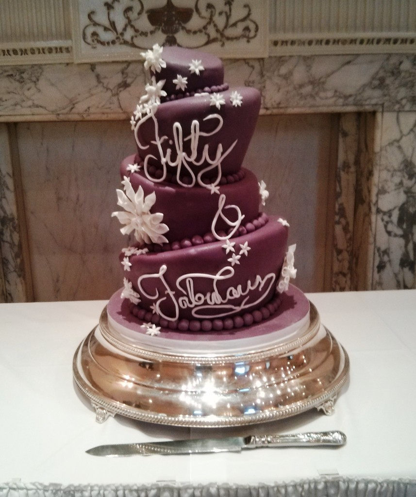 Fabulous Birthday Cakes Helens Fabulous At Fifty Birthday Cake Wedding Birthday Cakes