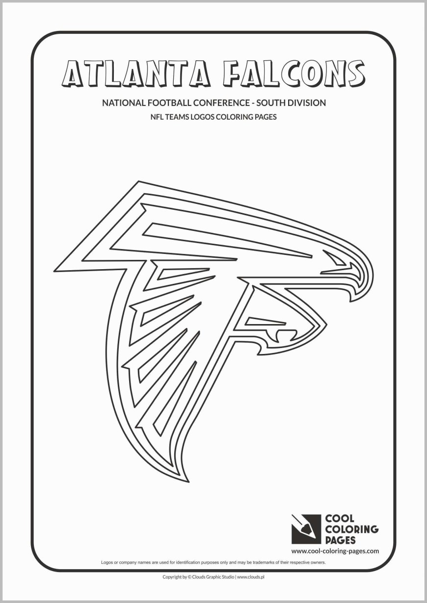 Falcon Coloring Pages Atlanta Falcons Coloring Pages Great Atlanta Falcon Clipart 40