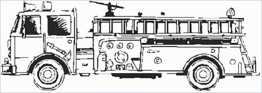 Fire Truck Coloring Page Fire Engine Coloring Pages With Fire Truck Coloring Book Pages
