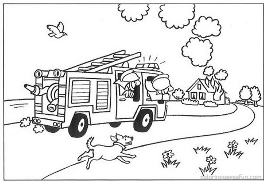 Fireman Coloring Pages Fireman Coloring Page 1 8189 Best Of Pages Bitslice