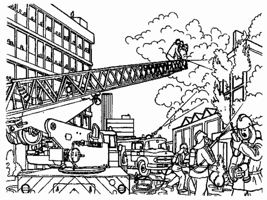 Fireman Coloring Pages Fireman Coloring Sheet Elegant Cute Firefighter Coloring Pages And