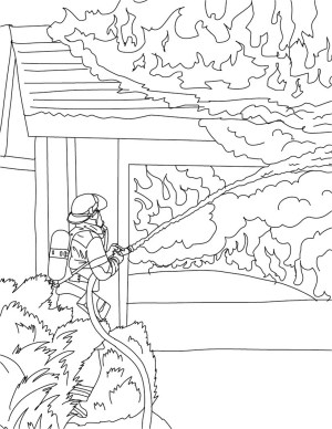 Fireman Coloring Pages Free Printable Firefighter Coloring Pages For Kids