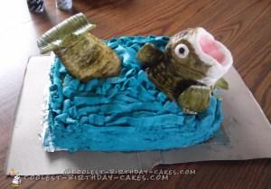Fish Birthday Cakes Coolest Bass Fish Birthday Cake