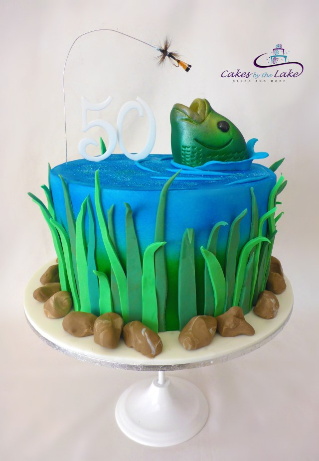 Fish Birthday Cakes Something Fishy Fly Fishing Cake Another Of Our Cakes From This