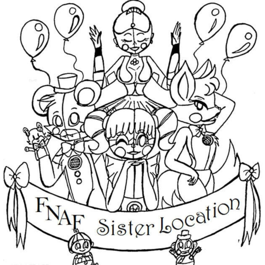 Fnaf Coloring Pages 10 Awesome Fnaf Coloring Pages All Characters Compare 2 Save