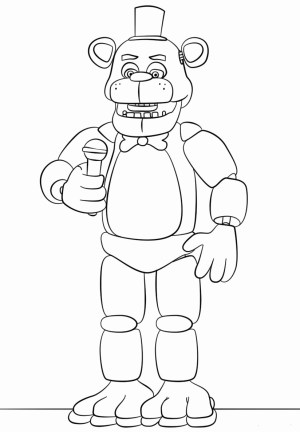 Fnaf Coloring Pages Fnaf Coloring Pages Fabulous Free Printable Five Nights At Freddy S