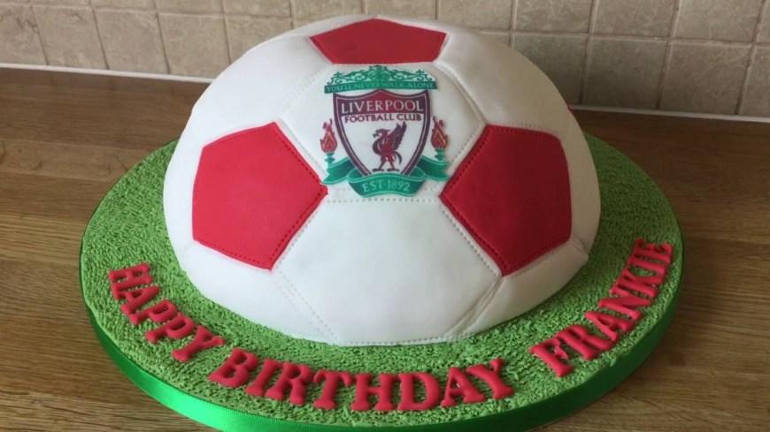 Football Birthday Cake Football Birthday Cake Youtube