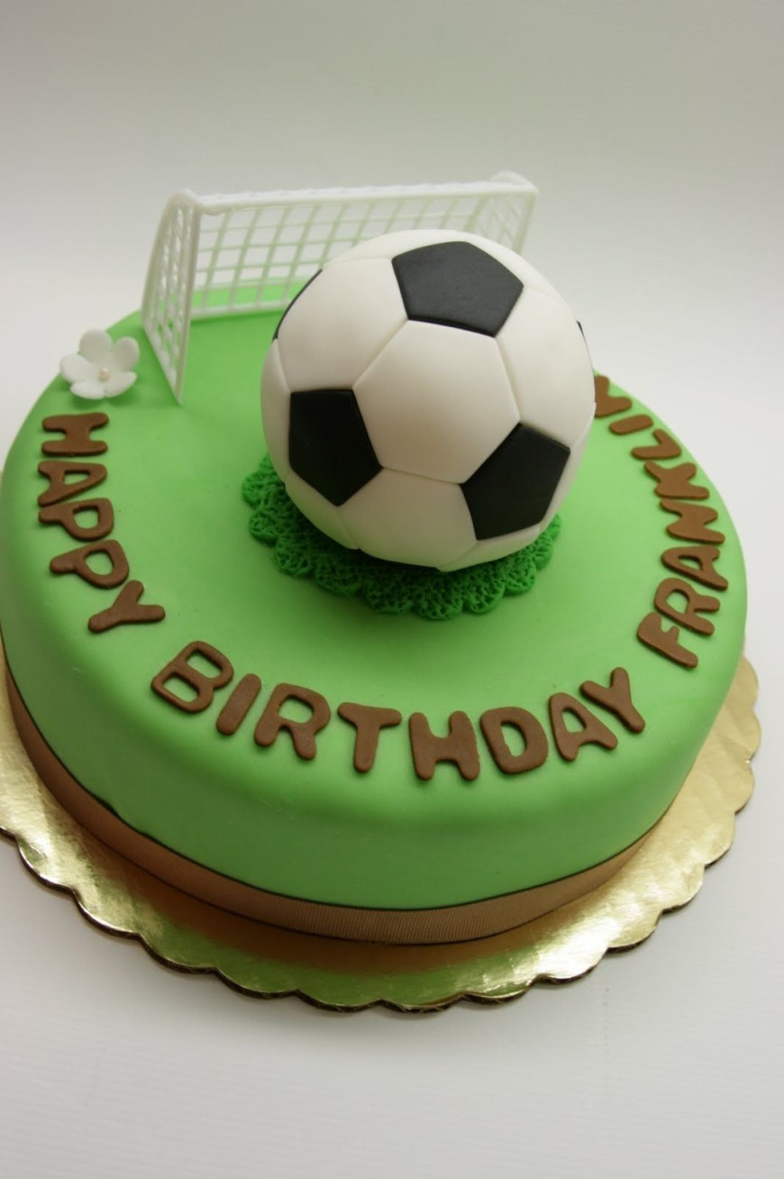 Football Birthday Cake Pin Sarah San On Recipes To Cook In 2019 Pinterest Soccer