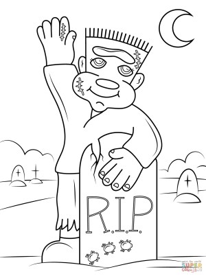 Frankenstein Coloring Pages Cute Frankenstein Coloring Page Free Printable Coloring Pages