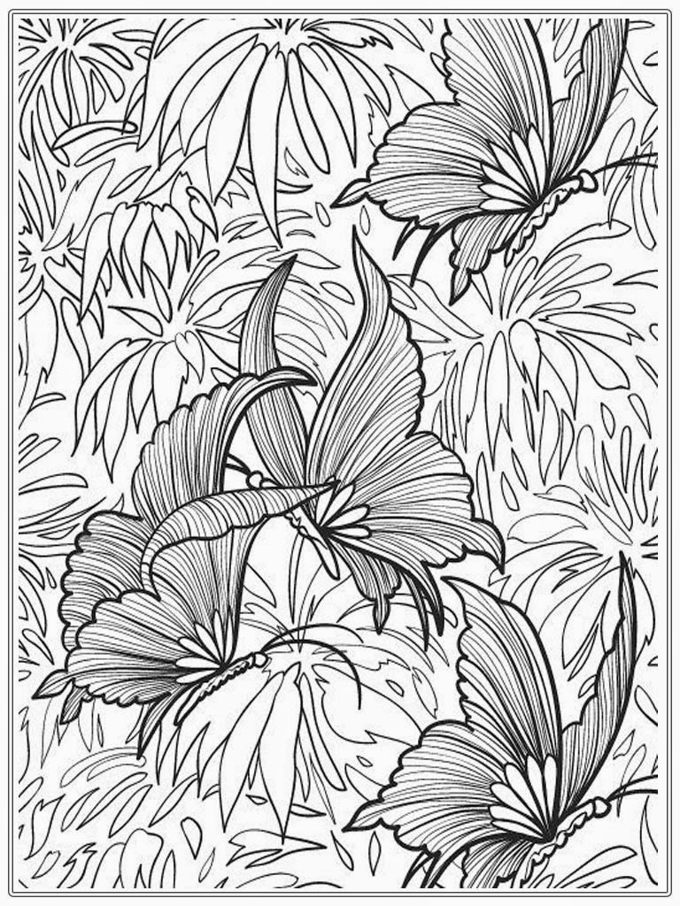 Free Adult Coloring Pages To Print Free Adult Coloring Pages Printable Butterfly 3126 Adult Coloring