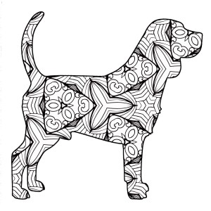 Free Animal Coloring Pages 30 Free Printable Geometric Animal Coloring Pages The Cottage Market