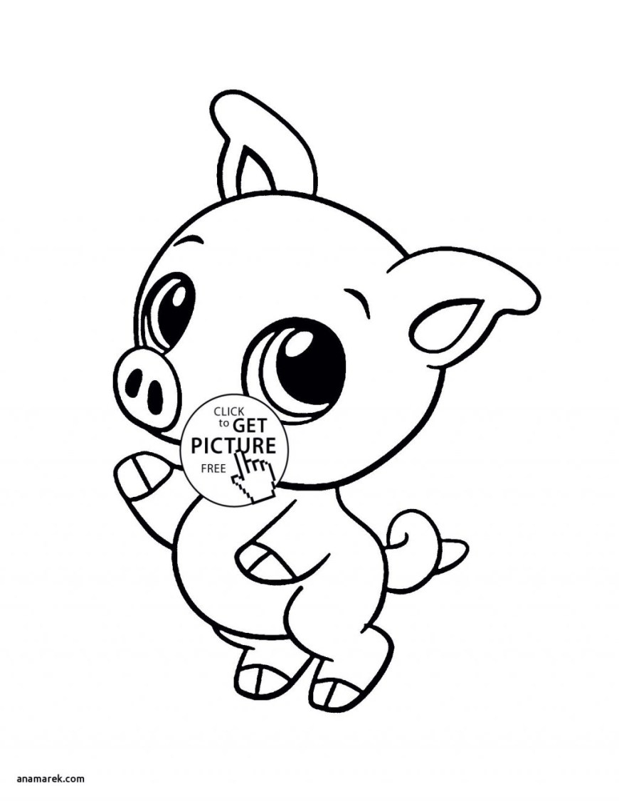 Free Animal Coloring Pages Coloring Page Colouring Cute Animals Animal Coloring Pages Best Of
