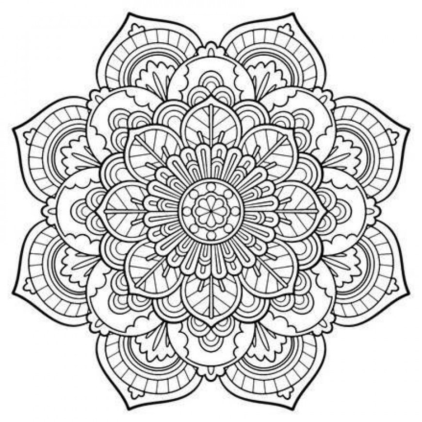 Free Coloring Pages Adults Mandala Coloring Pages Adults Free Best Of Get This Free Mandala