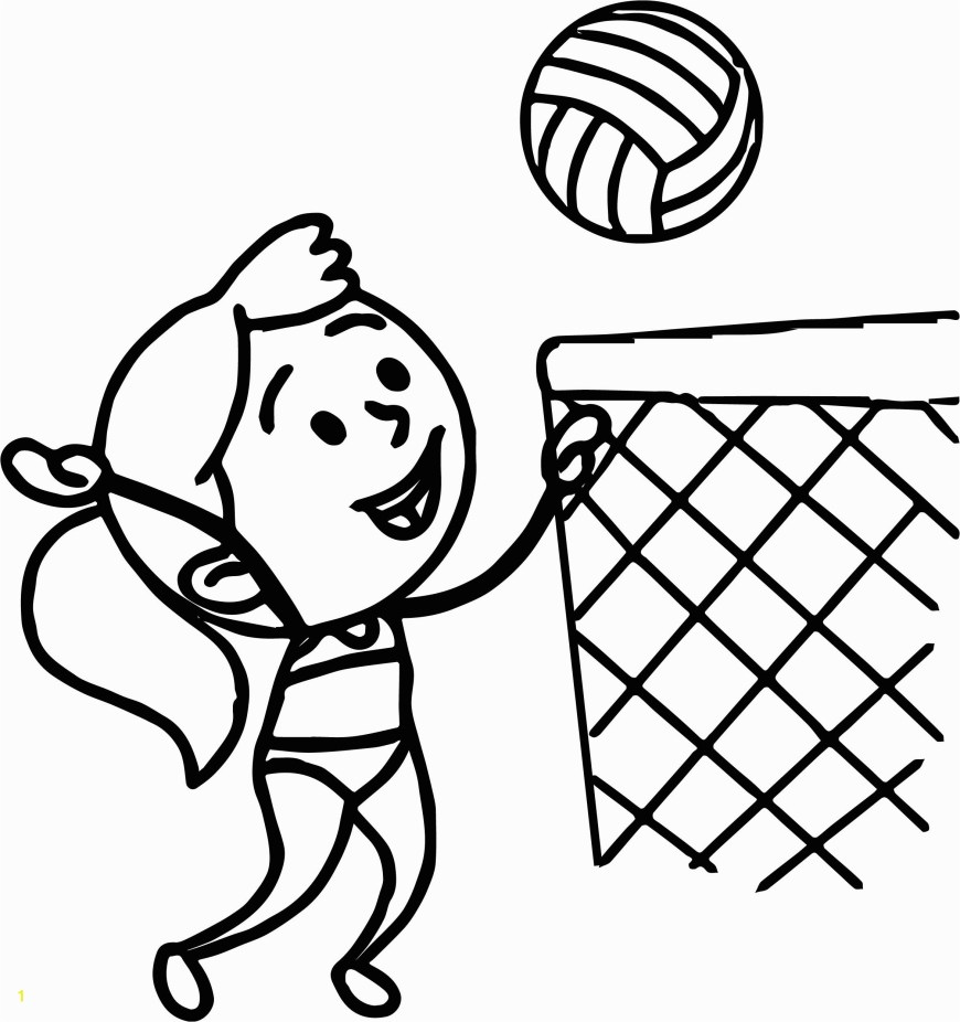 Free Coloring Pages For Girls Volleyball Player Coloring Pages Free Coloring Pages For Girls