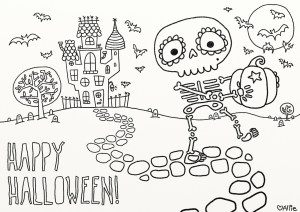 Free Halloween Coloring Pages 9 Fun Free Printable Halloween Coloring Pages