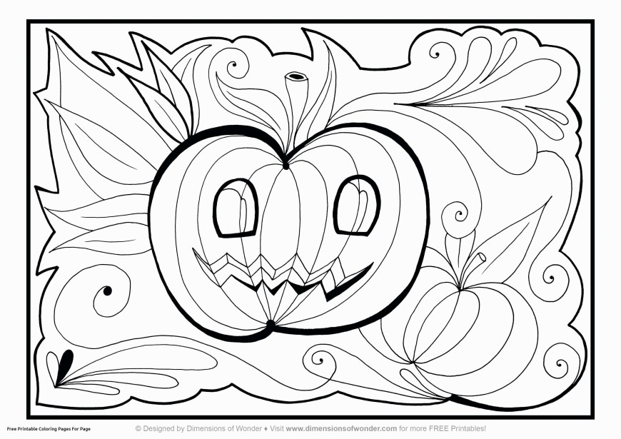Free Halloween Coloring Pages Color Wheel Coloring Page New Halloween Coloring Pages Printable