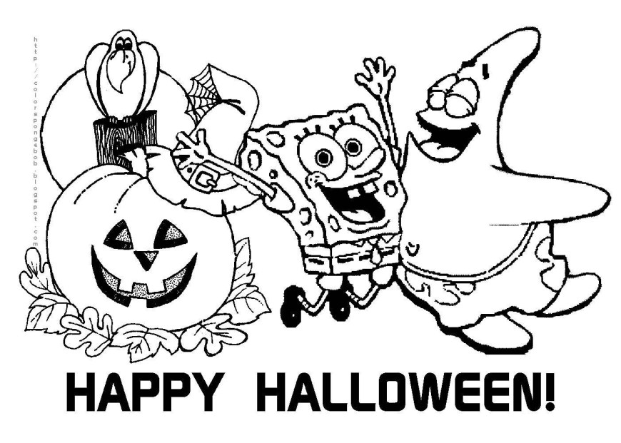 Free Halloween Coloring Pages Printable Halloween Coloring Pages Free For Kids Sheets In New Year