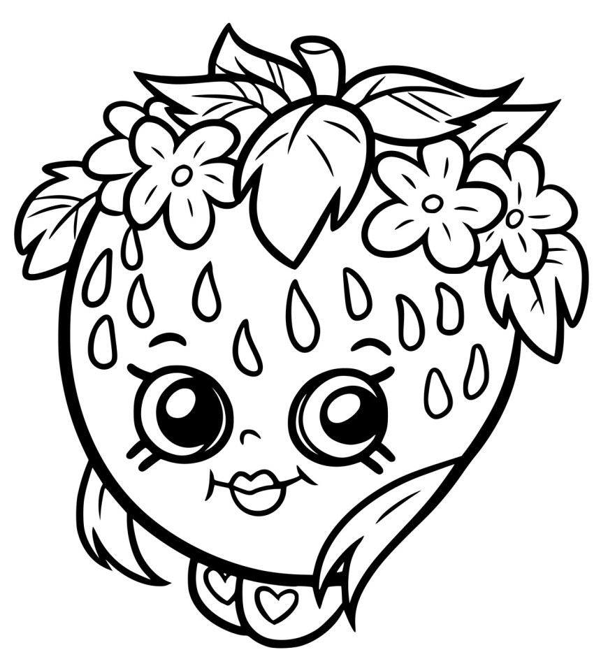 Free Shopkins Coloring Pages Extravagant Free Shopkins Coloring Pages Printable For Kids To