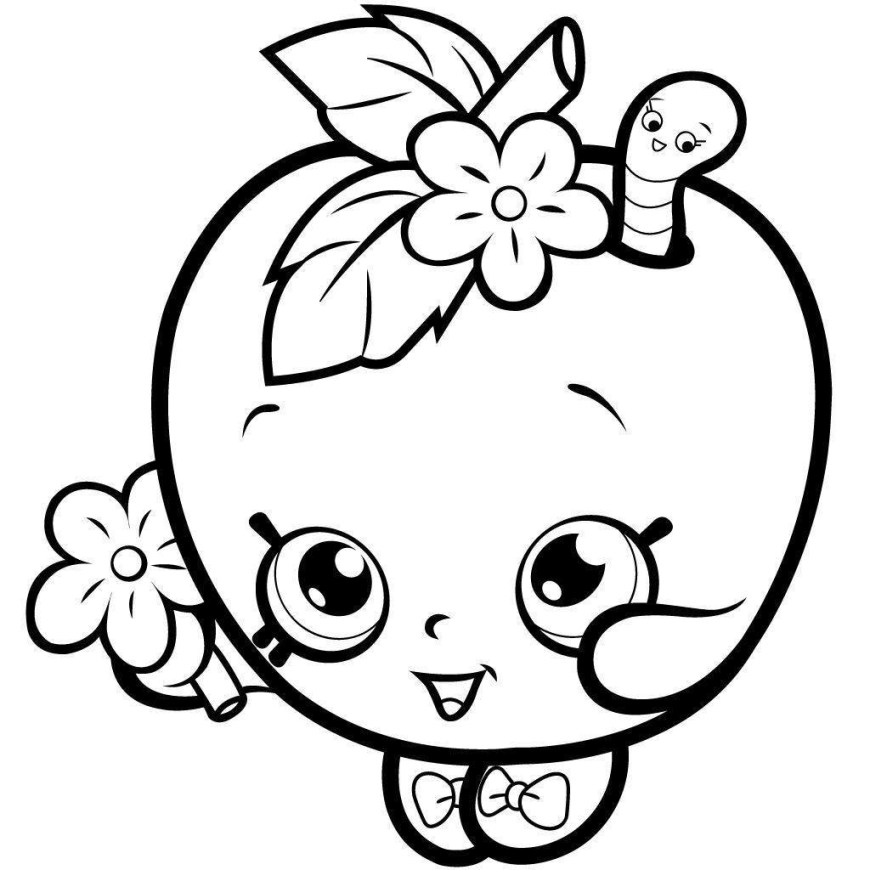 Free Shopkins Coloring Pages Shopkins Coloring Pages Printable Coloring Sheets Creamy Cookie