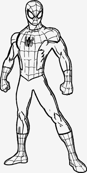 Free Spiderman Coloring Pages 016 Malbuch Free Printable Spiderman Coloring Pages Potentialplayers