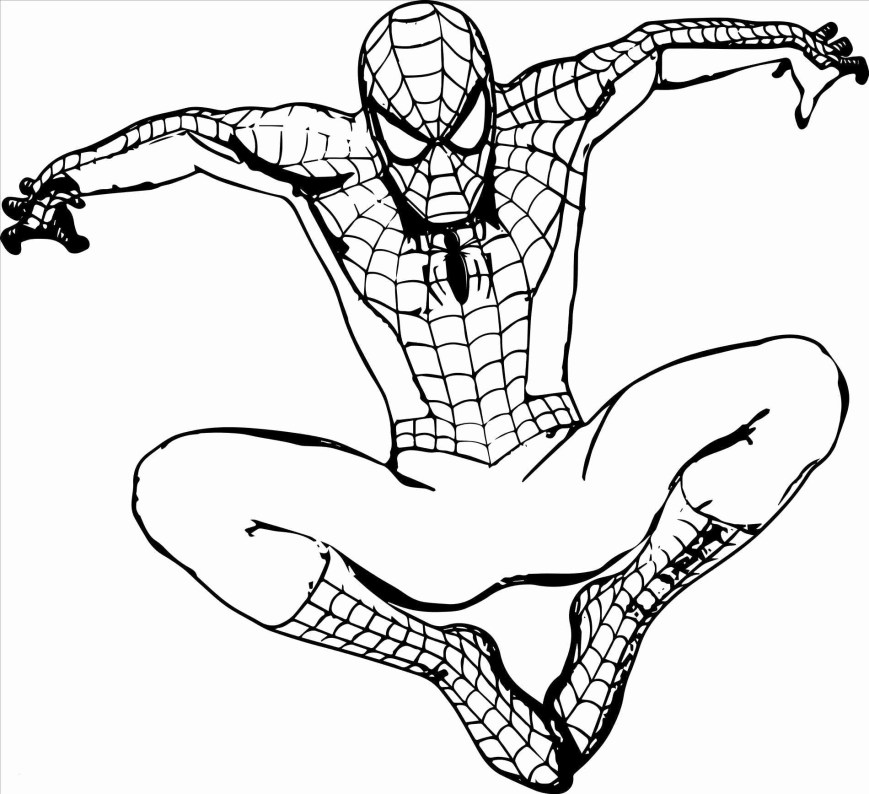 Free Spiderman Coloring Pages Spiderman Color Pages Back To School Unique Coloring Lovable Free