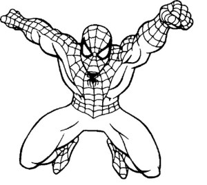 Free Spiderman Coloring Pages Spiderman Coloring Page Coloring Page Book For Kids