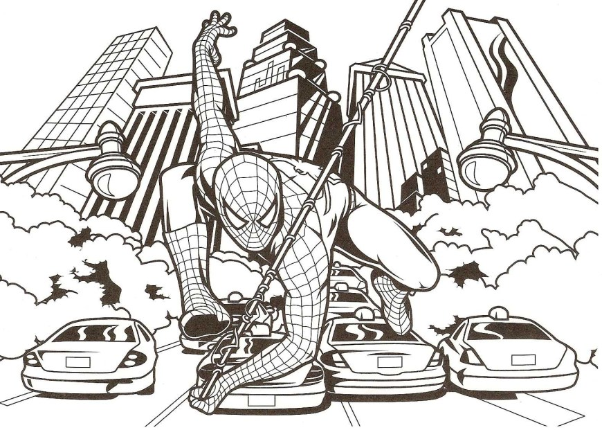 Free Spiderman Coloring Pages Spiderman Coloring Page Free Coloring Pages To Print