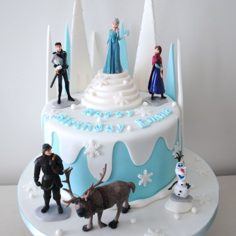 Frozen Birthday Cake Miss Cupcakes Blog Archive Disney Frozen Birthday Cake