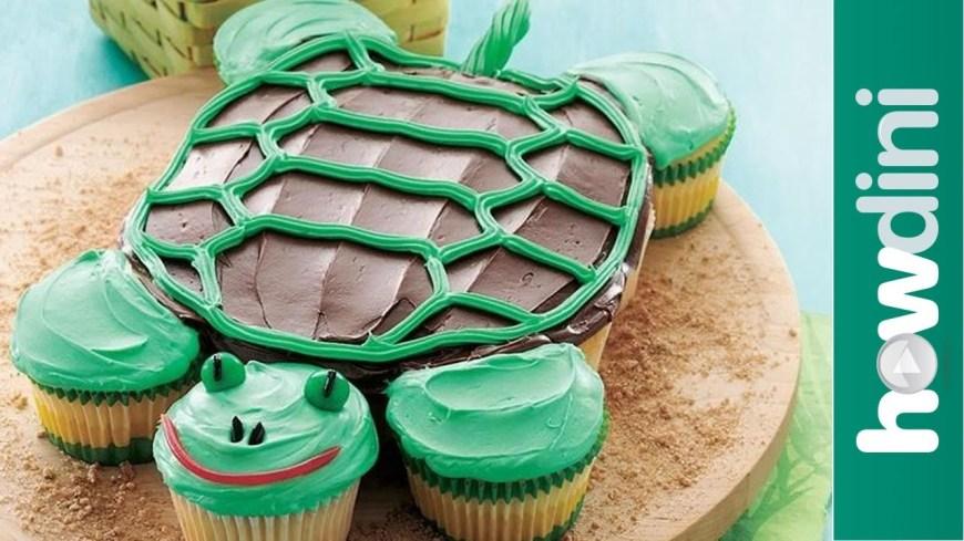 Fun Birthday Cakes Birthday Cake Ideas How To Make A Fun Turtle Cupcake Cake Youtube