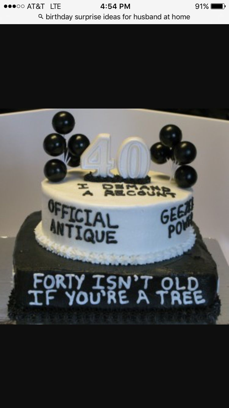 Funny 40Th Birthday Cakes Pin Sasha Mcdaniel On Birthday Ideas In 2018 Pinterest